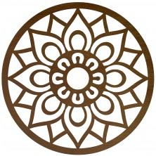 Okrąg dekoracyjny Mandala