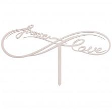 Drewniany toper Forever Love