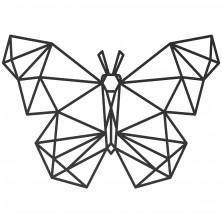 Geometryczna dekoracja na ścianę MOTYL