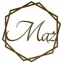 Okrąg dekoracyjny Mąż motyw geometryczny