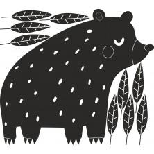 Naklejka do pokoju Dziecka - Niedźwiedź