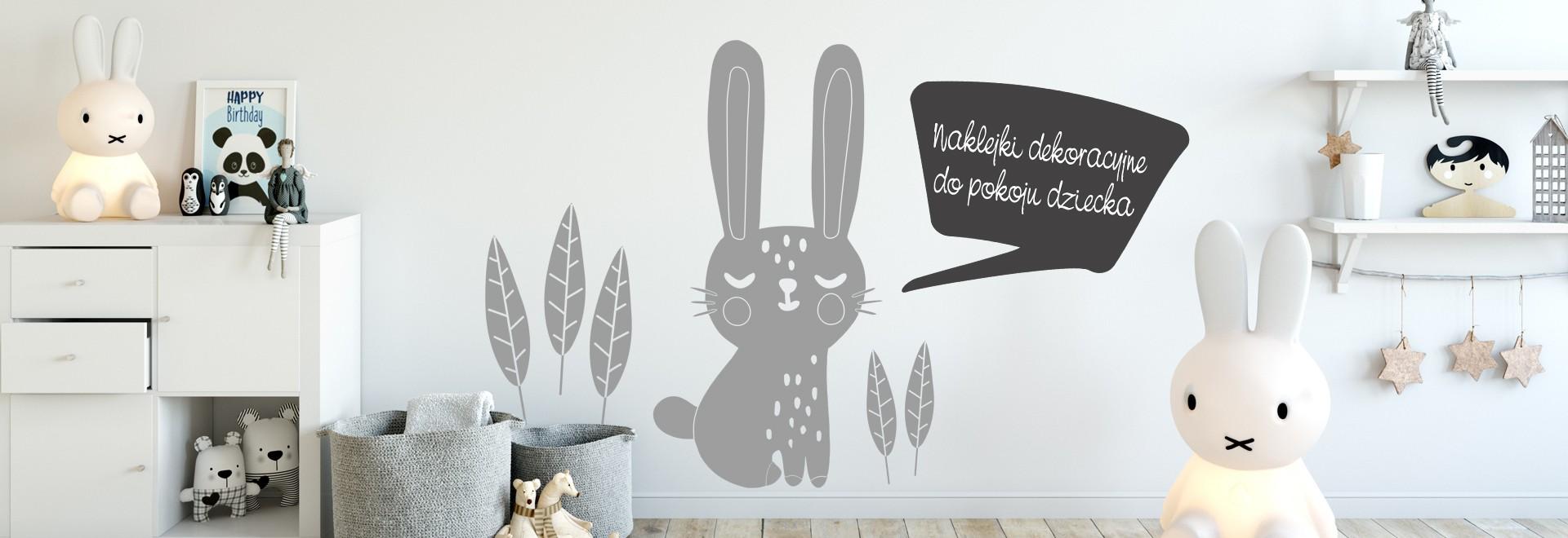 Naklejki dekoracyjne do pokoju dziecka